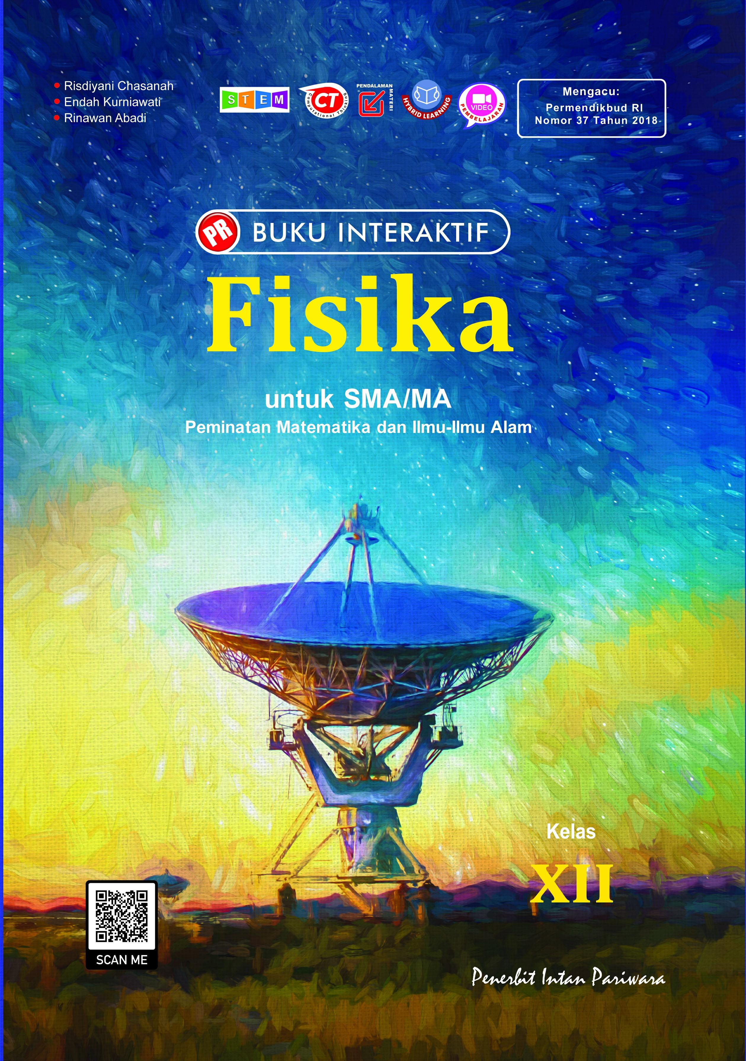 Buku Interaktif Fisika XII Tahunan