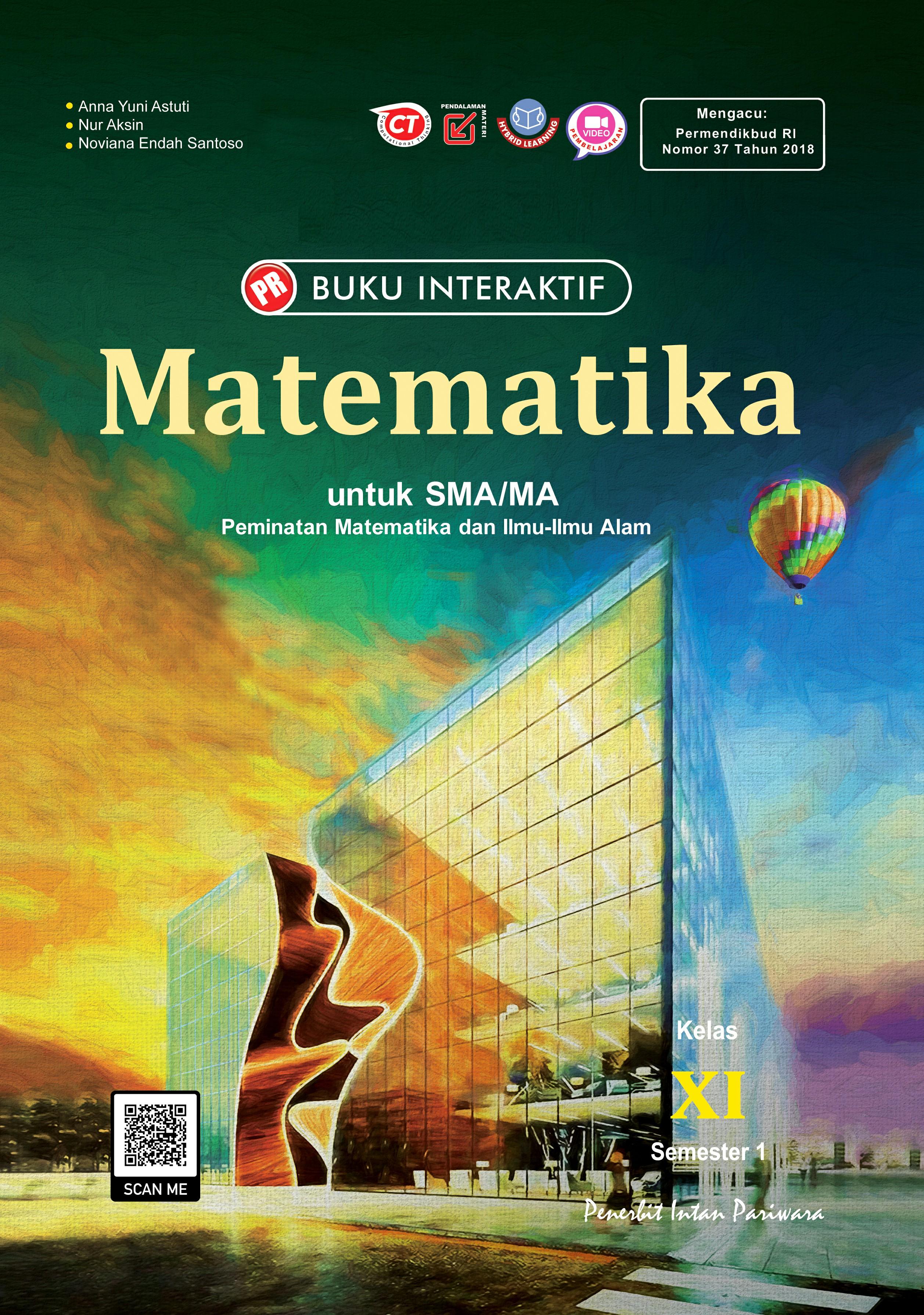 Buku Interaktif Matematika Peminatan XI Semester 1