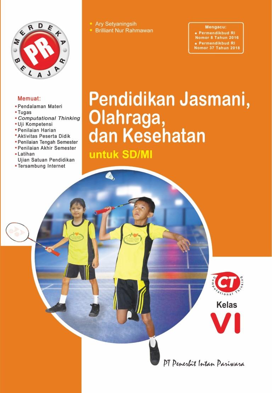PR Pendidikan Jasmani dan Olahraga VI Tahunan Thn 2020/2021
