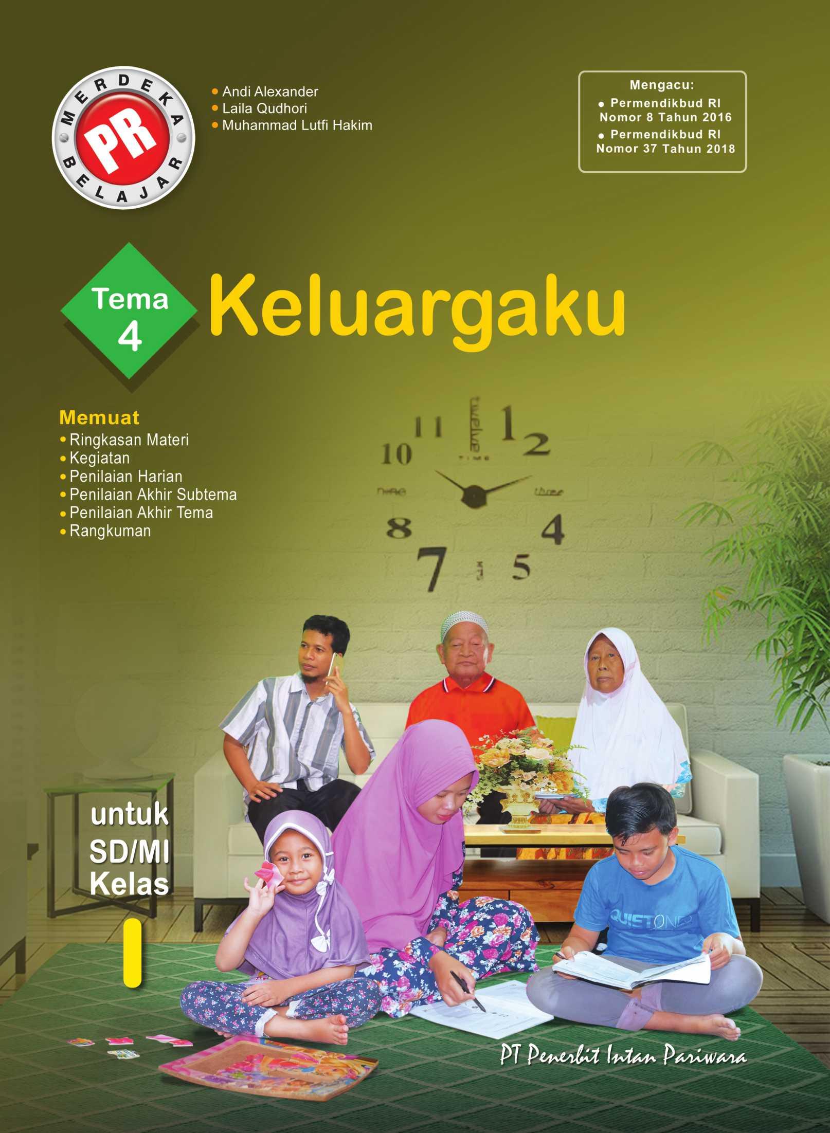 PR Kelas I Tema 4 Keluargaku Thn 2020/2021