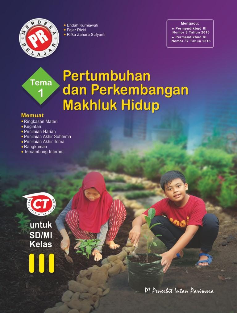 PR Kelas III Tema 1 Pertumbuhan dan Perkembangan Makhluk Hidup Thn 2020/2021