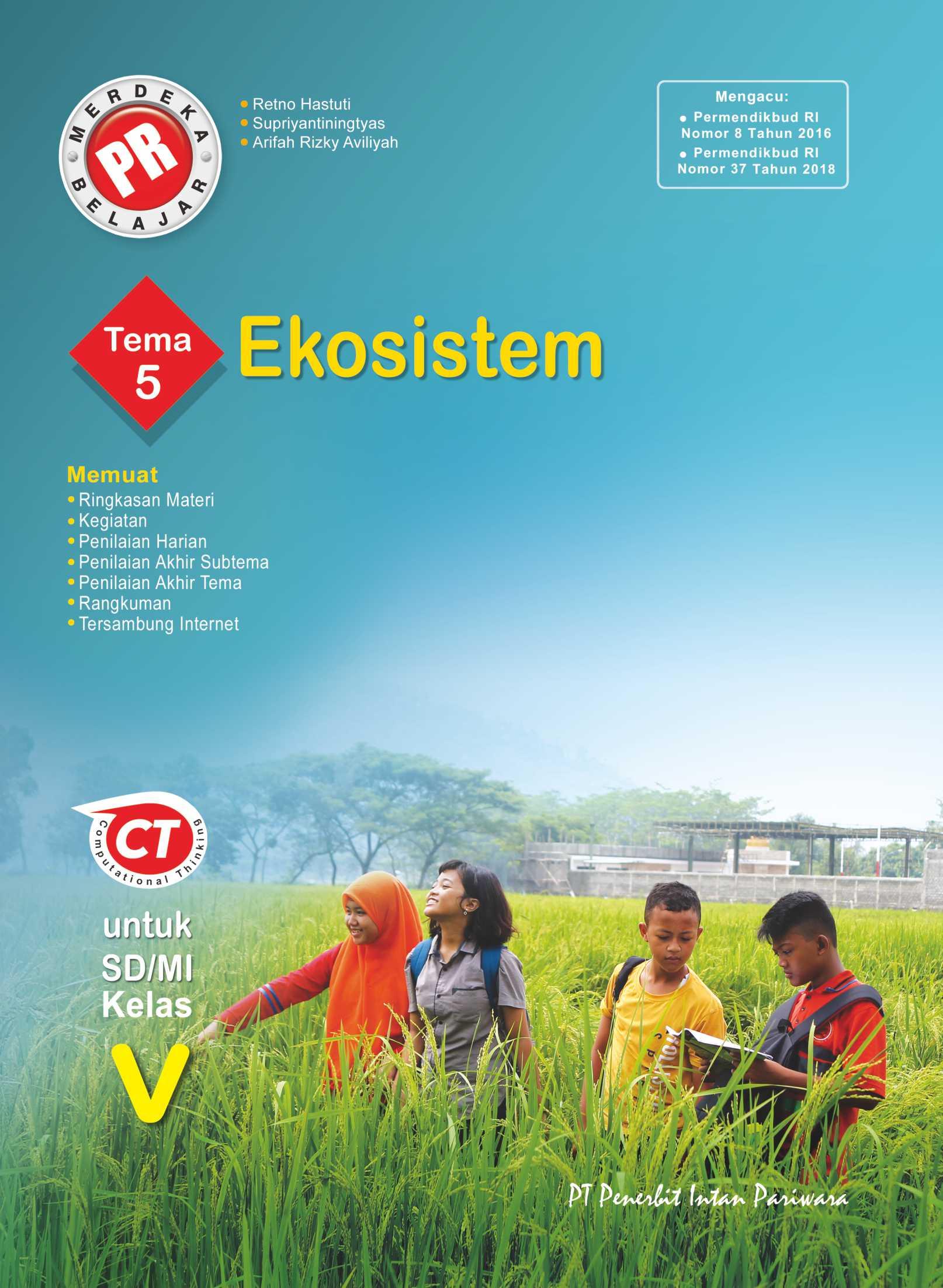 PR Kelas V Tema 5 Ekosistem Thn 2020/2021