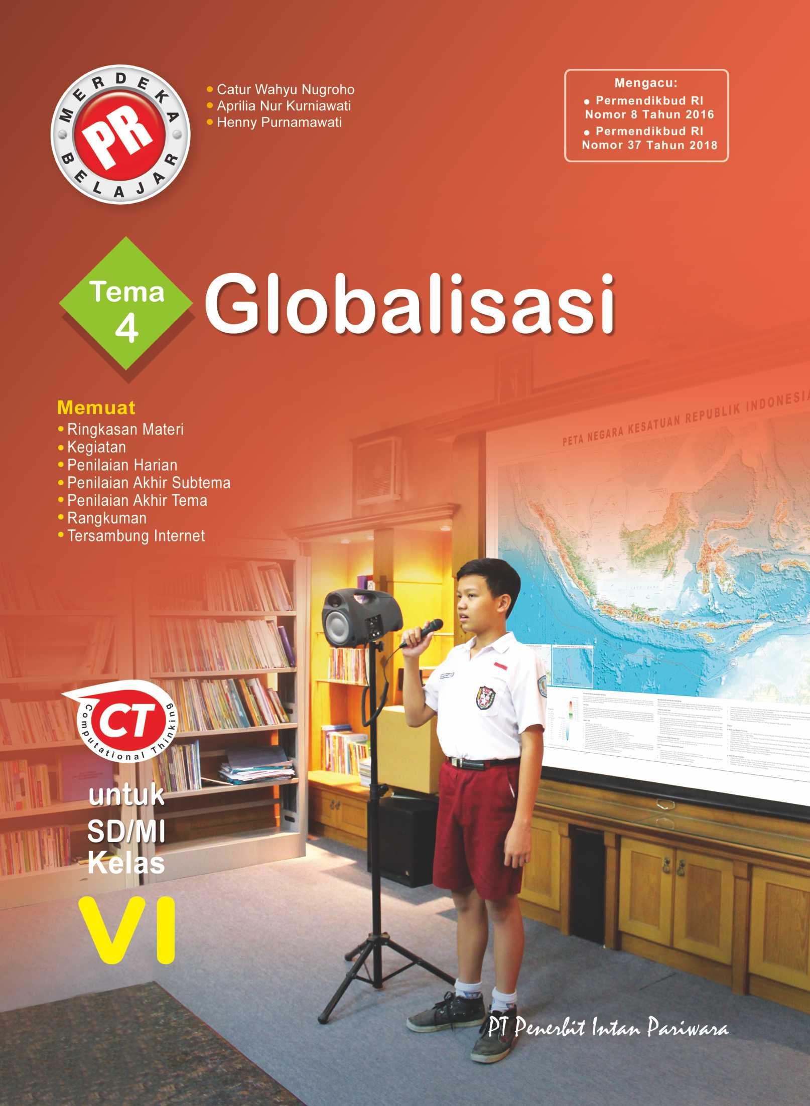 PR Kelas VI Tema 4 Globalisasi Thn 2020/2021