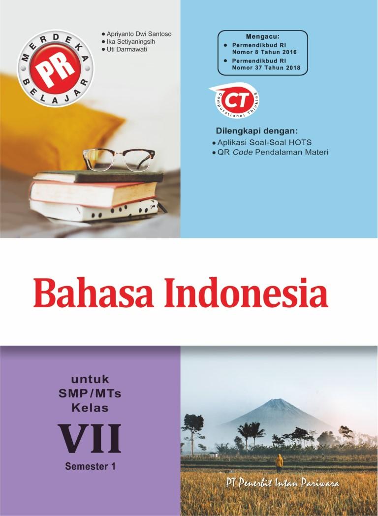 PR Bahasa Indonesia VII Semester 1 Thn 2020/2021