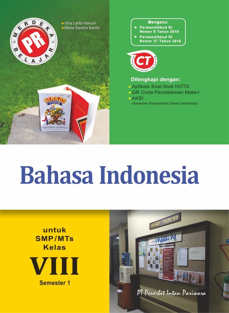 PR Bahasa Indonesia VIII Semester 1 Thn 2020/2021
