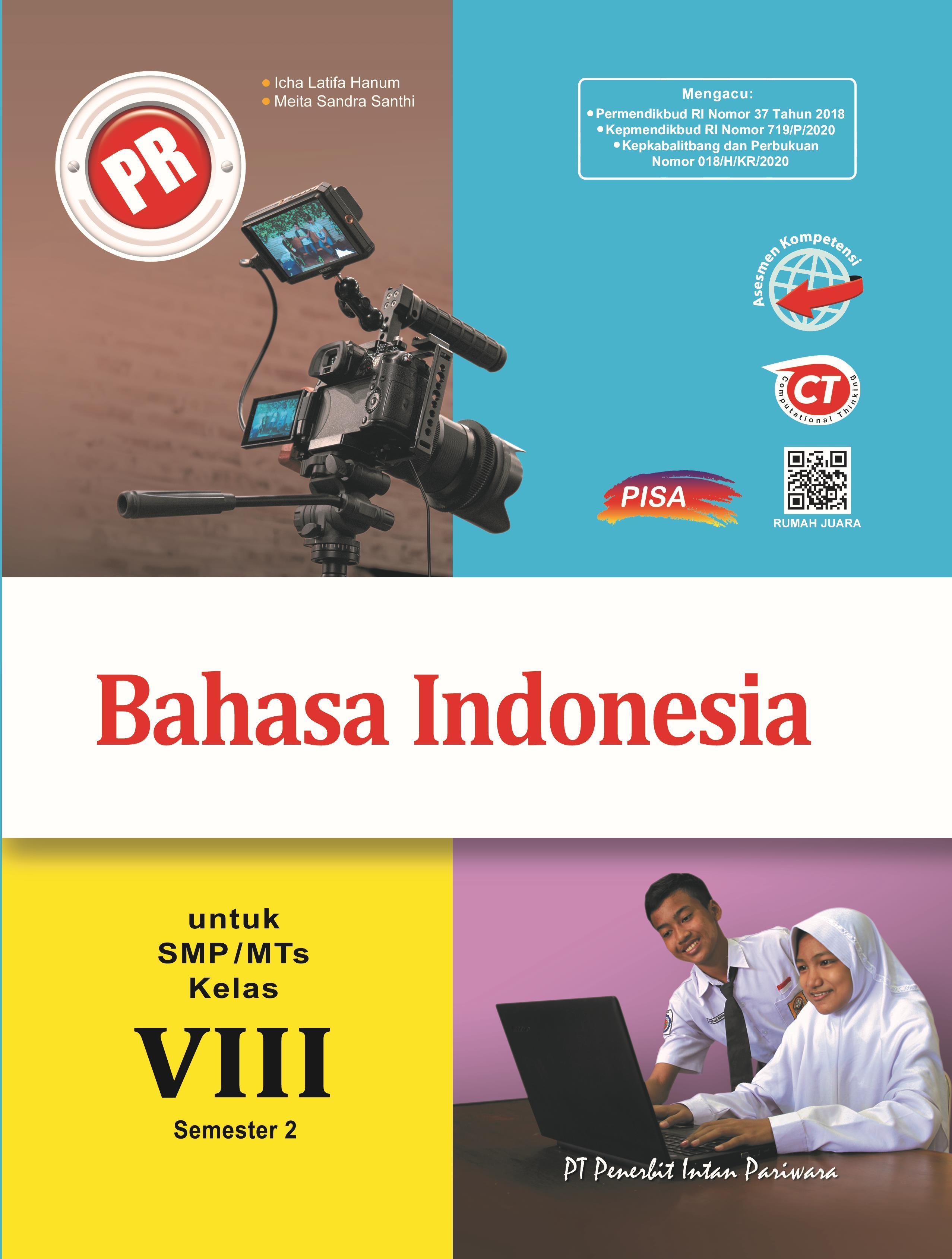 PR Bahasa Indonesia VIII Semester 2 Thn 2020/2021