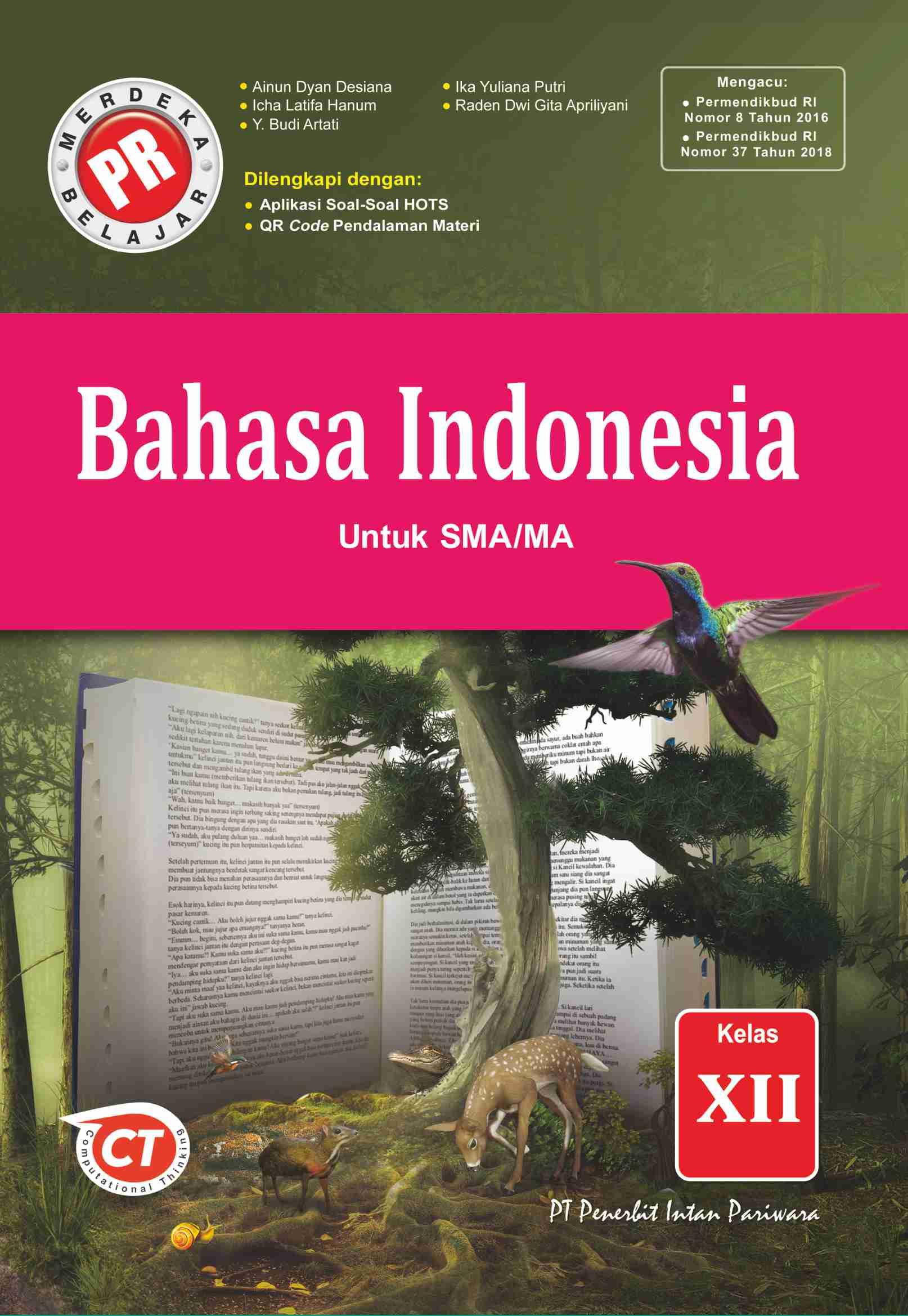 PR Bahasa Indonesia XII Tahunan Thn 2020/2021