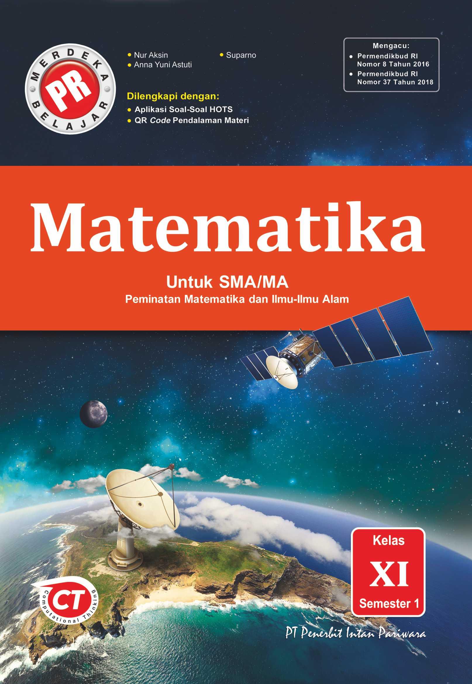 PR Matematika Peminatan XI Semester 1 Thn 2020/2021